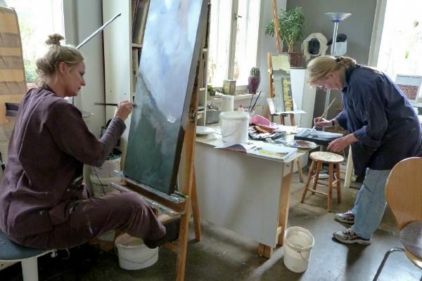 Atelier im Gartenhaus